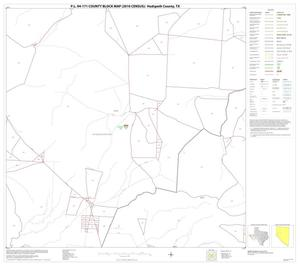 Primary view of object titled 'P.L. 94-171 County Block Map (2010 Census): Hudspeth County, Block 12'.