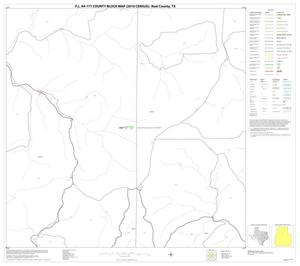 Primary view of object titled 'P.L. 94-171 County Block Map (2010 Census): Real County, Block 11'.