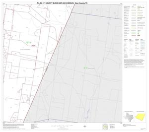 Primary view of object titled 'P.L. 94-171 County Block Map (2010 Census): Starr County, Block 26'.
