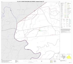 Primary view of object titled 'P.L. 94-171 County Block Map (2010 Census): Lampasas County, Block 7'.