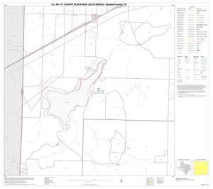 Primary view of object titled 'P.L. 94-171 County Block Map (2010 Census): Randall County, Block 9'.
