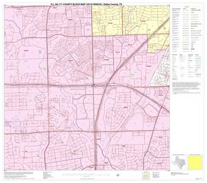 Primary view of object titled 'P.L. 94-171 County Block Map (2010 Census): Dallas County, Block 14'.