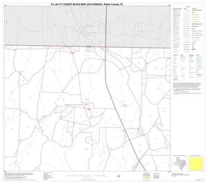 Primary view of object titled 'P.L. 94-171 County Block Map (2010 Census): Potter County, Block 2'.
