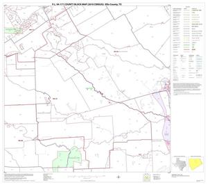 Primary view of object titled 'P.L. 94-171 County Block Map (2010 Census): Ellis County, Block 10'.