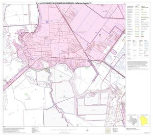 Primary view of object titled 'P.L. 94-171 County Block Map (2010 Census): Jefferson County, Block 19'.