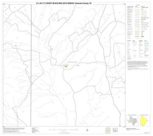 Primary view of object titled 'P.L. 94-171 County Block Map (2010 Census): Brewster County, Block 36'.