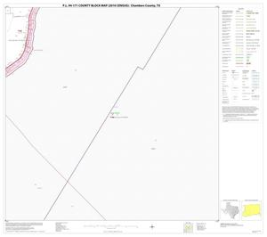 Primary view of object titled 'P.L. 94-171 County Block Map (2010 Census): Chambers County, Block 12'.