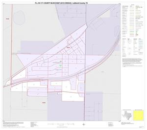 Primary view of object titled 'P.L. 94-171 County Block Map (2010 Census): Lubbock County, Inset G01'.