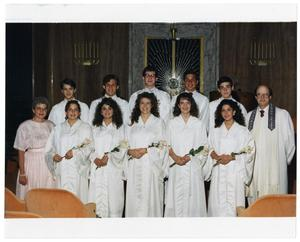 Primary view of object titled '[Confirmation Class of 1989]'.