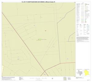 Primary view of object titled 'P.L. 94-171 County Block Map (2010 Census): Jefferson County, Inset A02'.