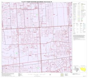 Primary view of object titled 'P.L. 94-171 County Block Map (2010 Census): Harris County, Block 214'.