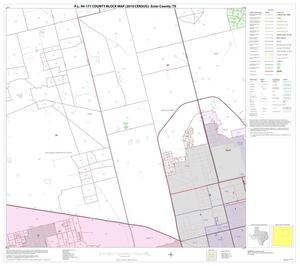 Primary view of object titled 'P.L. 94-171 County Block Map (2010 Census): Ector County, Block 7'.