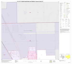 Primary view of object titled 'P.L. 94-171 County Block Map (2010 Census): Cameron County, Inset B01'.
