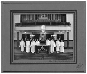 Primary view of object titled '[Confirmation Class of 1933]'.