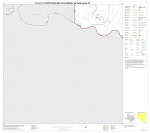 Primary view of object titled 'P.L. 94-171 County Block Map (2010 Census): Val Verde County, Block 51'.
