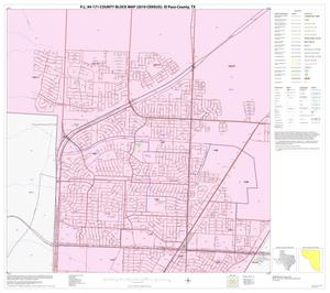 Primary view of object titled 'P.L. 94-171 County Block Map (2010 Census): El Paso County, Block 14'.