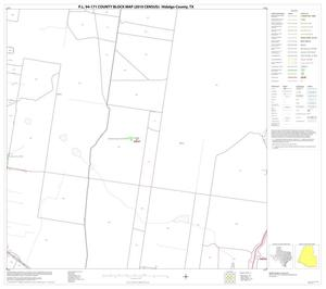 Primary view of object titled 'P.L. 94-171 County Block Map (2010 Census): Hidalgo County, Block 71'.