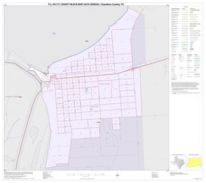 Primary view of object titled 'P.L. 94-171 County Block Map (2010 Census): Chambers County, Inset C01'.