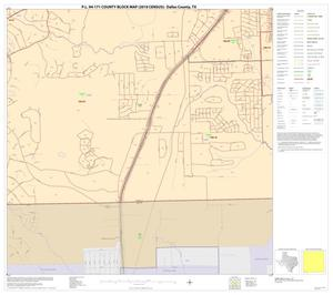 Primary view of object titled 'P.L. 94-171 County Block Map (2010 Census): Dallas County, Block 74'.