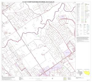 Primary view of object titled 'P.L. 94-171 County Block Map (2010 Census): Harris County, Block 70'.
