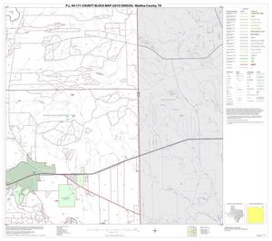Primary view of object titled 'P.L. 94-171 County Block Map (2010 Census): Medina County, Block 15'.