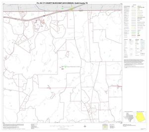 Primary view of object titled 'P.L. 94-171 County Block Map (2010 Census): Erath County, Block 2'.