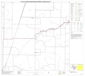 Primary view of object titled 'P.L. 94-171 County Block Map (2010 Census): Haskell County, Block 7'.