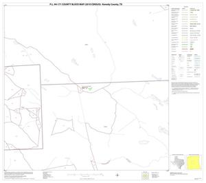Primary view of object titled 'P.L. 94-171 County Block Map (2010 Census): Kenedy County, Block 13'.