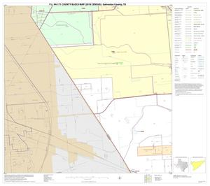 Primary view of object titled 'P.L. 94-171 County Block Map (2010 Census): Galveston County, Block 22'.