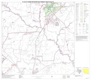 Primary view of object titled 'P.L. 94-171 County Block Map (2010 Census): Wood County, Block 11'.