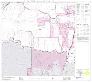 Primary view of object titled 'P.L. 94-171 County Block Map (2010 Census): Comal County, Block 8'.