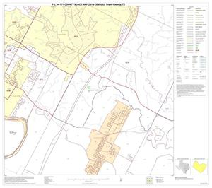 Primary view of object titled 'P.L. 94-171 County Block Map (2010 Census): Travis County, Block 36'.