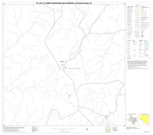 Primary view of object titled 'P.L. 94-171 County Block Map (2010 Census): Val Verde County, Block 15'.