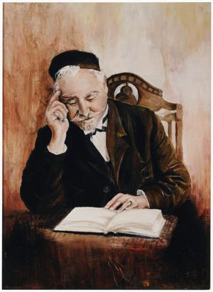 Painting of the First Rabbi of Beth-El Congregation, Rabbi Solomon Philo