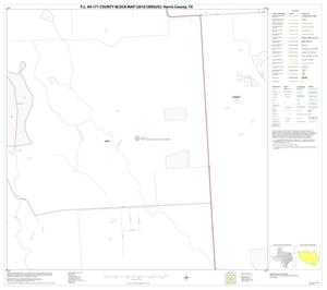 Primary view of object titled 'P.L. 94-171 County Block Map (2010 Census): Harris County, Block 84'.