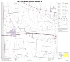 Primary view of object titled 'P.L. 94-171 County Block Map (2010 Census): Hopkins County, Block 8'.