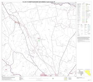 Primary view of object titled 'P.L. 94-171 County Block Map (2010 Census): Austin County, Block 5'.