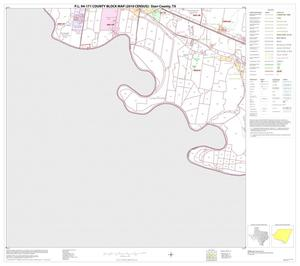 Primary view of object titled 'P.L. 94-171 County Block Map (2010 Census): Starr County, Block 27'.