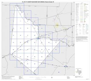 Primary view of object titled 'P.L. 94-171 County Block Map (2010 Census): Reeves County, Index'.