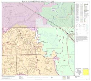 Primary view of object titled 'P.L. 94-171 County Block Map (2010 Census): Dallas County, Block 2'.