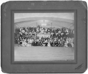 Primary view of object titled '[Purim masquerade ball, ca. 1910]'.