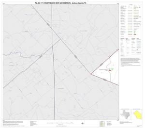 Primary view of object titled 'P.L. 94-171 County Block Map (2010 Census): Jackson County, Block 4'.