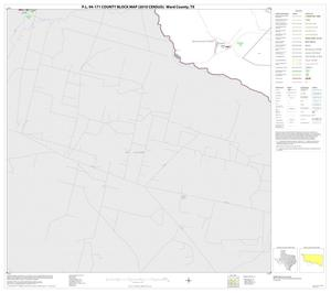 Primary view of object titled 'P.L. 94-171 County Block Map (2010 Census): Ward County, Block 13'.