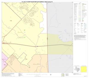 Primary view of object titled 'P.L. 94-171 County Block Map (2010 Census): Dallas County, Block 54'.