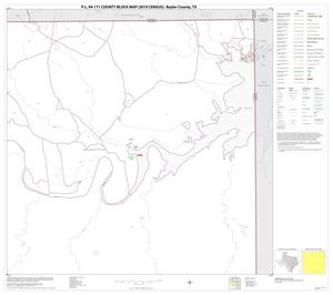 Primary view of object titled 'P.L. 94-171 County Block Map (2010 Census): Baylor County, Block 4'.