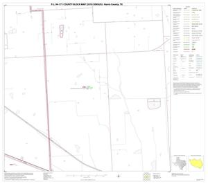 Primary view of object titled 'P.L. 94-171 County Block Map (2010 Census): Harris County, Block 42'.