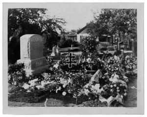 Primary view of object titled '[Emanuel Hebrew Rest Cemetery, 1928, grave of Ben Levy]'.