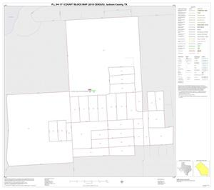 Primary view of object titled 'P.L. 94-171 County Block Map (2010 Census): Jackson County, Inset H01'.