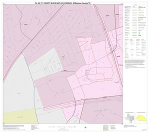 Primary view of object titled 'P.L. 94-171 County Block Map (2010 Census): Williamson County, Inset V02'.