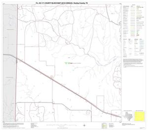 Primary view of object titled 'P.L. 94-171 County Block Map (2010 Census): Donley County, Block 5'.